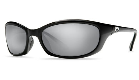 Costa Del Mar Harpoon Sunglasses-Black w/ 580G Silver Mirror Lens - Bennett's Clothing - 1