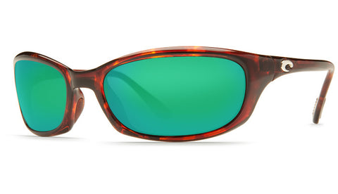 Costa Del Mar Harpoon Sunglasses-Tortoise w/ 400G Green Mirror Lens - Bennett's Clothing - 1