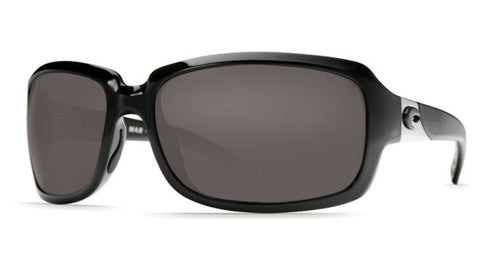 Costa Del Mar Isabela sunglasses-Black w/ Grey 400G Lens - Bennett's Clothing - 1