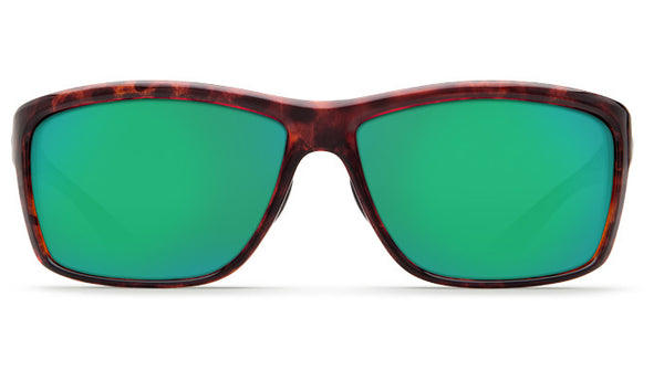 Costa Del Mar Mag Bay Sunglasses-Tortoise w/ Green Mirror 580P Lens - Bennett's Clothing - 3