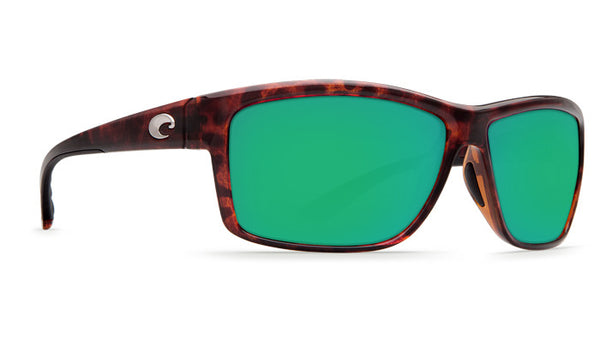 Costa Del Mar Mag Bay Sunglasses-Tortoise w/ Green Mirror 580P Lens - Bennett's Clothing - 4