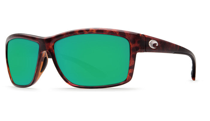 Costa Del Mar Mag Bay Sunglasses-Tortoise w/ Green Mirror 580P Lens - Bennett's Clothing - 1