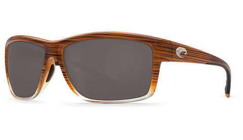 Costa Del Mar Mag Bay Sunglasses-Wood Fade w/ Grey 580P Lens - Bennett's Clothing - 1