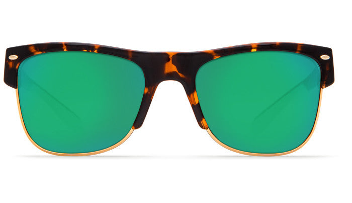 bf3932c80e ... Costa Del Mar Pawleys Sunglasses-Retro Tortoise w  580G Green Mirror  Lens ...