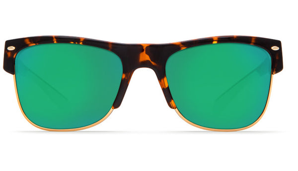 Costa Del Mar Pawleys Sunglasses-Retro Tortoise w/ 580P Green Mirror Lens - Bennett's Clothing - 3