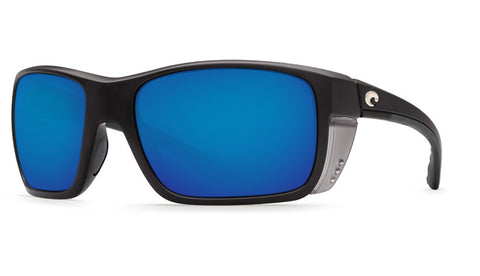 Costa Del Mar Rooster Sunglasses-Black w/ 580G Blue Mirror Lens - Bennett's Clothing - 1