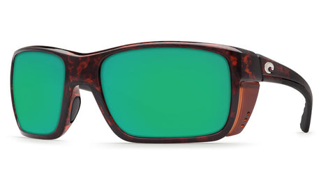 Costa Del Mar Rooster Sunglasses-Tortoise w/ 400G Green Mirror Lens - Bennett's Clothing - 1