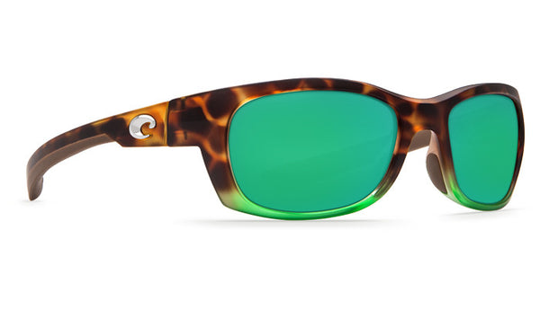 Costa Trevally Sunglasses-Matte Tortuga Fade w/ 580P Green Mirror Lens - Bennett's Clothing - 4