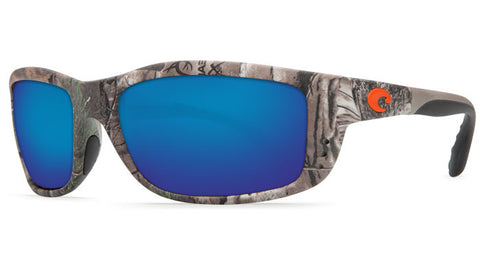 Costa Del Mar Zane Sunglasses-Realtree Xtra Camo w/ Blue Mirror 580P Lens - Bennett's Clothing - 1