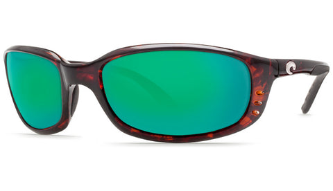 Costa Del Mar Brine sunglasses-Tortoise w/ Green Mirror 580P - Bennett's Clothing - 1