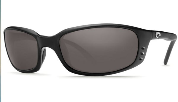 Costa Del Mar Brine sunglasses-Black w/ Grey 580P - Bennett's Clothing - 3