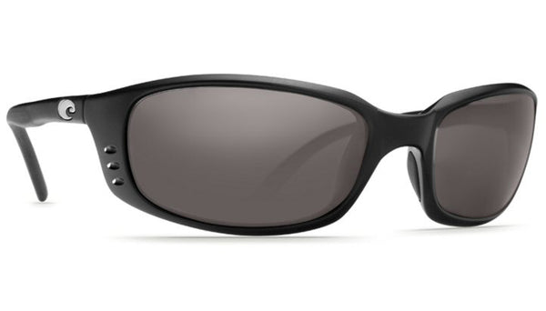Costa Del Mar Brine sunglasses-Black w/ Grey 580P - Bennett's Clothing - 1