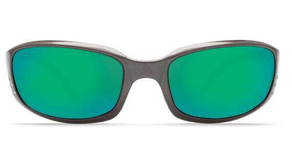 Costa Del Mar Brine sunglasses-Gunmetal w/ Green Mirror 580P - Bennett's Clothing - 3