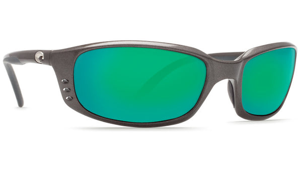 Costa Del Mar Brine sunglasses-Gunmetal w/ Green Mirror 580P - Bennett's Clothing - 4