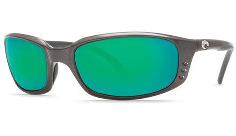 Costa Del Mar Brine sunglasses-Gunmetal w/ Green Mirror 580P - Bennett's Clothing - 1