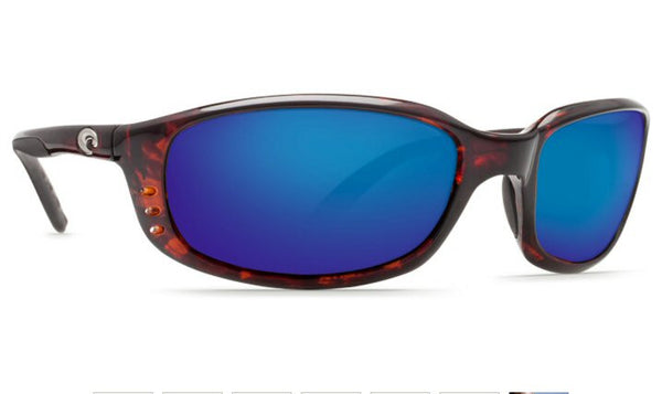 Costa Del Mar Brine sunglasses-Tortoise w/ Blue Mirror 400G