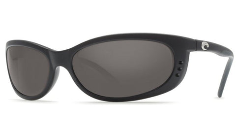 Costa Del Mar Fathom Sunglasses-Black w/ Grey 580P Lens - Bennett's Clothing - 1