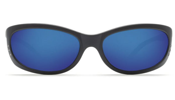 Costa Del Mar Fathom Sunglasses-Black w/ Blue Mirror 400G Lens - Bennett's Clothing - 3