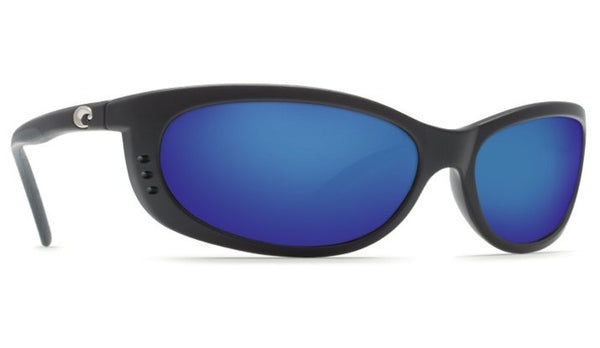 Costa Del Mar Fathom Sunglasses-Black w/ Blue Mirror 400G Lens - Bennett's Clothing - 4