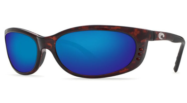 Costa Del Mar Fathom Sunglasses-Tortoise w/ Blue Mirror 400G Lens - Bennett's Clothing - 1