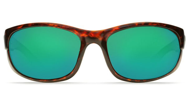 Costa Del Mar Howler Sunglasses-Tortoise w/ 580P Green Mirror Lens - Bennett's Clothing - 3