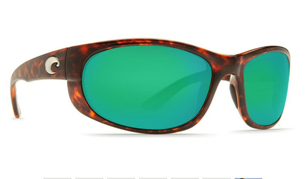 Costa Del Mar Howler Sunglasses-Tortoise w/ 580P Green Mirror Lens - Bennett's Clothing - 4