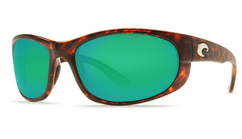 Costa Del Mar Howler Sunglasses-Tortoise w/ 580P Green Mirror Lens - Bennett's Clothing - 1