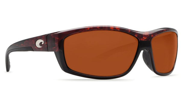 Costa Del Mar Saltbreak Sunglasses-Tortoise w/ 580P Copper Lens - Bennett's Clothing - 4