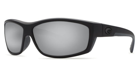 Costa Del Mar Saltbreak Sunglasses-Blackout w/ 580G Silver Mirror Lens - Bennett's Clothing - 1