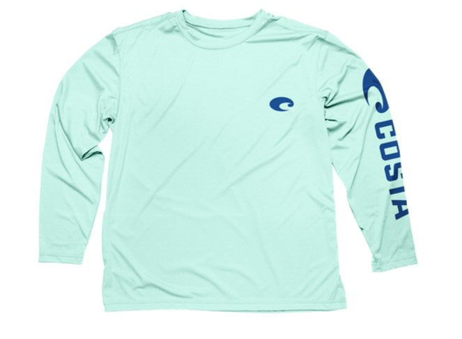 Costa Del Mar Technical Long Sleeve Shirt-Mint