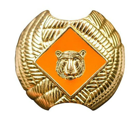 Cub Scouts Tiger Neckerchief Slide - Bennett's Clothing