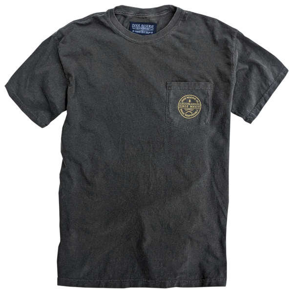 Dixie Reserve Drink'em if You've Got'em Short Sleeve Tee-Charcoal Grey