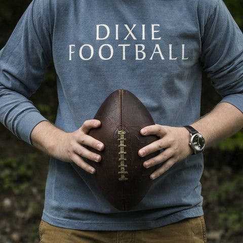 Dixie Reserve Dixie Football Tee-Denim