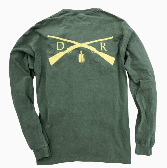 Dixie Reserve Dixie Shooting Club Long Sleeve T-shirt-Green
