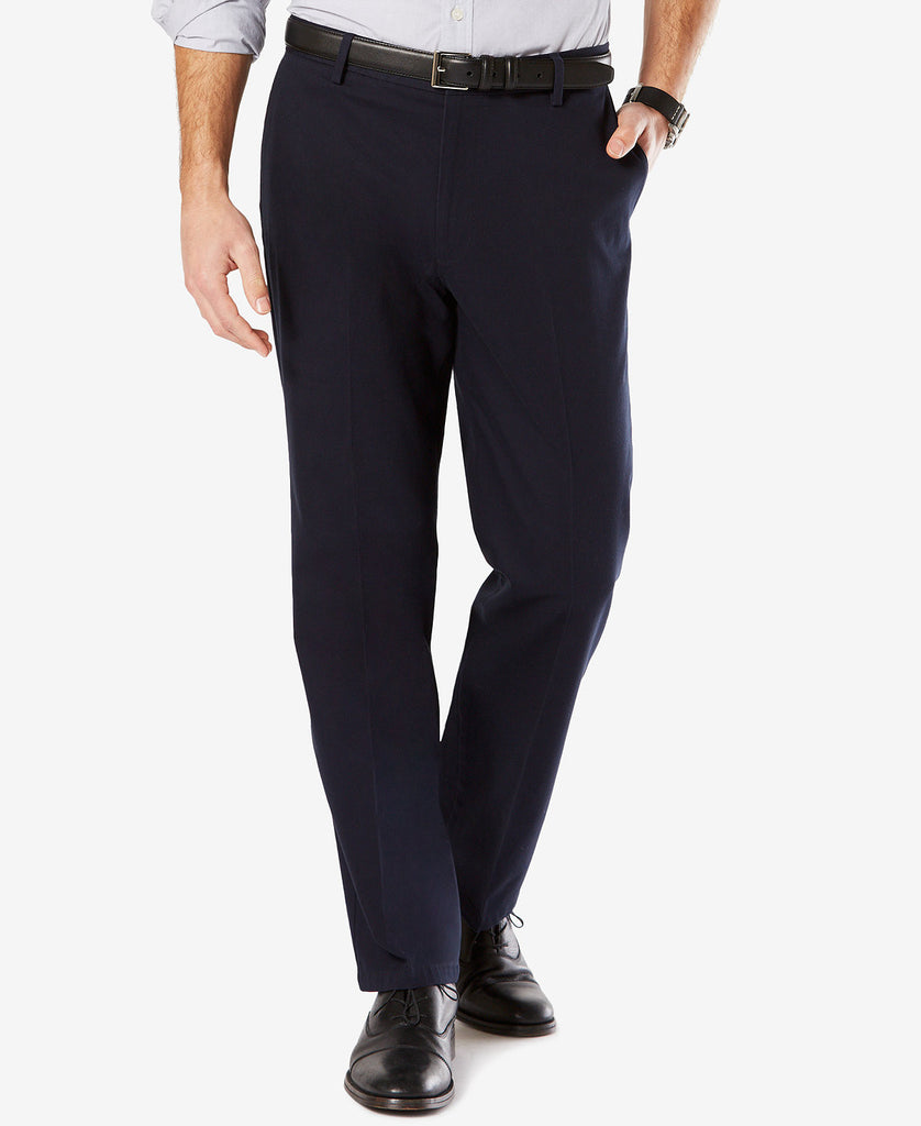 Dockers Signature Classic Fit Stretch Pant-Navy - Bennett's Clothing