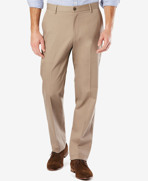 Dockers Signature Classic Fit Stretch Pant-Timberwolf - Bennett's Clothing - 1