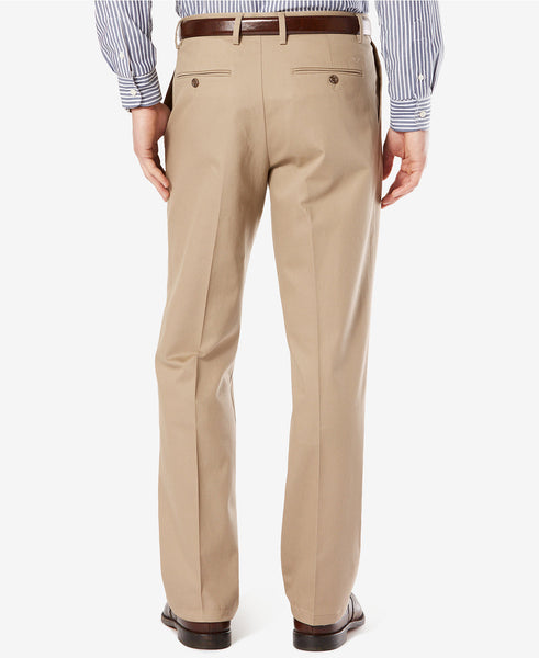 Dockers Signature Classic Fit Pleated Stretch Pant-Timberwolf - Bennett's Clothing - 2