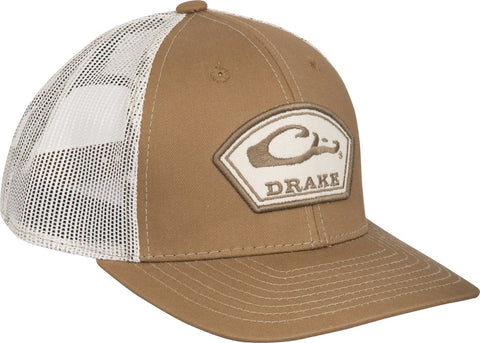 Drake Arch Patch mesh back trucker hats are the latest in cool hats. Shop Bennetts Clothing for a large selection of name brand outdoor clothing