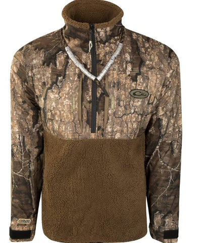 Drake Guardian Flex Sherpa Fleece Pullover is perfect for the cooler days ahead. Shop Bennett's Clothing for the outdoor gear you want from the brands you love.