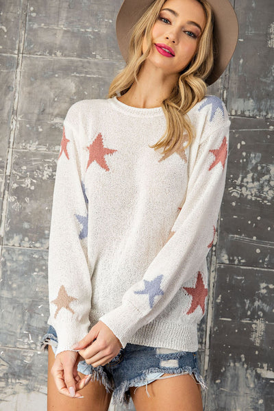 ee:Some Star Sweater has golden styling to make your wardrobe shine. Shop Bennett's for the latest styles in womens clothing shipped same day to your front door.