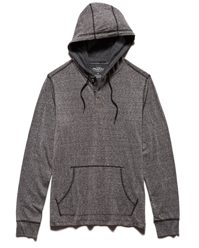 Flag and Anthem Biscoe Stripe Hooded Henley Pullover looks sharp and keeps the chills at bay. Shop Bennett's Clothing for the brands you want, shipped same day to your front door.