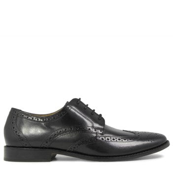 Florsheim Montinaro Wingtip Oxford Dress Shoe-Black