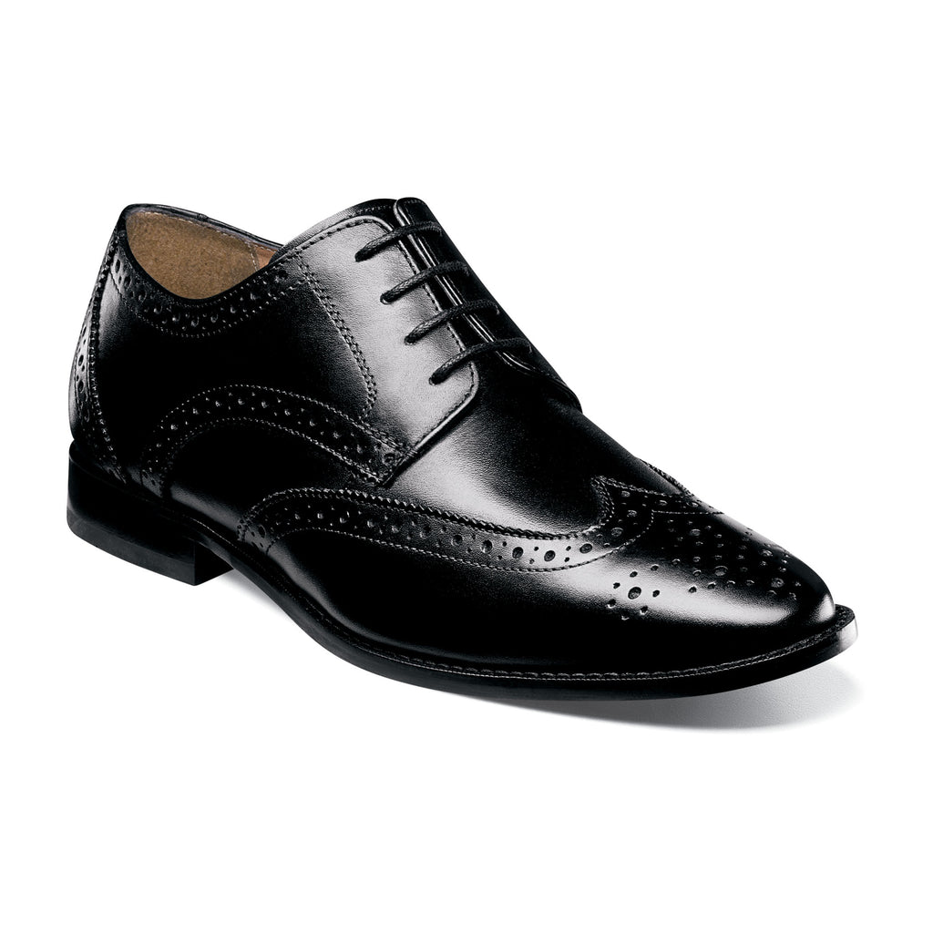 Florsheim Montinaro Wingtip Oxford Dress Shoes really makes a mans outfit shine. Shop Bennett's Clothing for the best in name-brand menswear with same day shipping