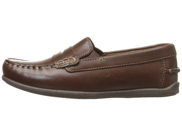Florsheim Boy's Jasper Slip-on Penny Loafer-Brown