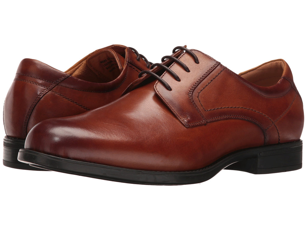 Florsheim Midtown Plain Toe Oxford-Cognac - Bennett's Clothing - 1