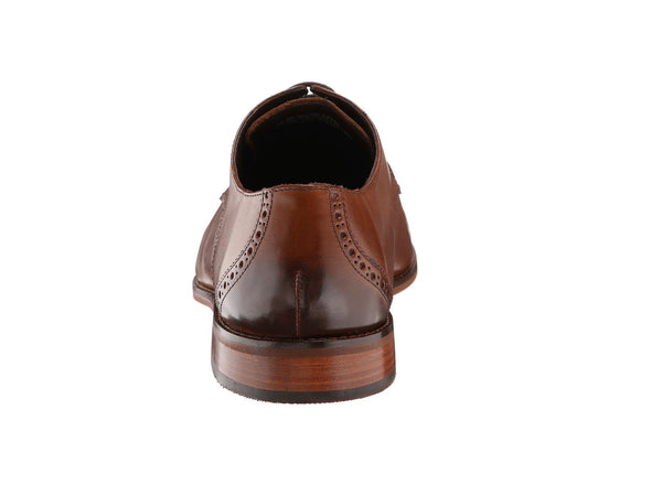 Florsheim Castellano Cap Toe Oxford Shoe-Saddle Tan