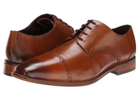 Florsheim Castellano Cap Toe Oxford Dress Shoe-Bennett's Clothing has same day shipping
