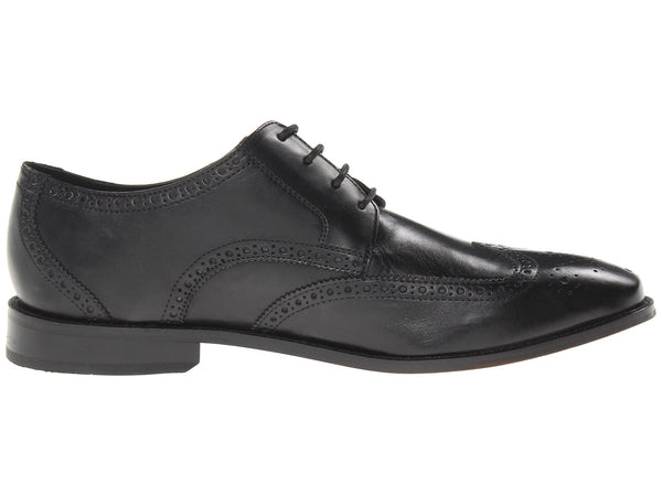 Florsheim Castellano Wingtip Oxford Dress Shoe-Black - Bennett's Clothing - 4