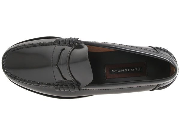 Florsheim Mens Berkley Penny Loafer-Black - Bennett's Clothing - 6