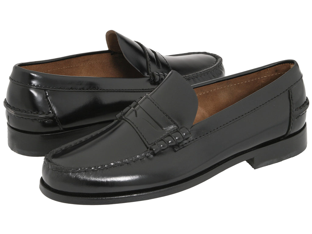 86342669f4f Florsheim Mens Berkley Penny Loafer-Black - Bennett s Clothing - 1